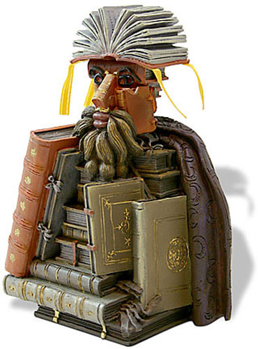 The Librarian Bust By Arcimboldo
