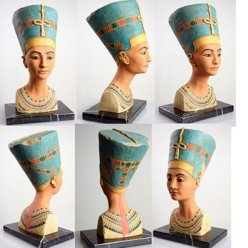Egyptian Queen Bust of Nefertiti
