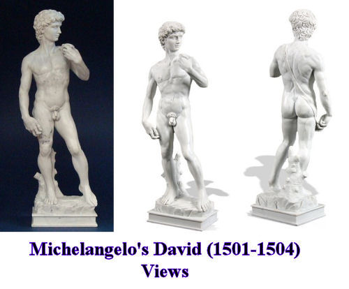 Reproduction of David By Michelangelo Statue Masterpiece