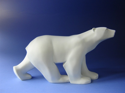 Polar Bear Grande by French Sculptor Pompon