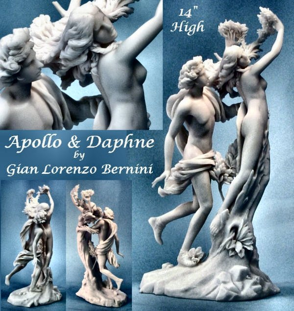 Apollo and Daphne By Gian Lorenzo Bernini Sculpture
