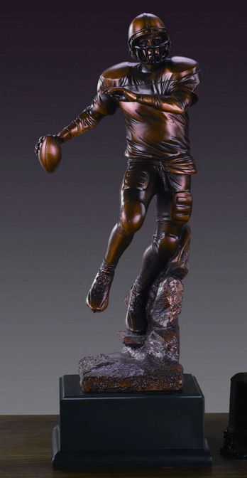 Football Player Statue Large