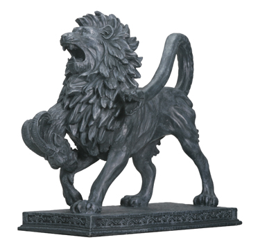 Chimera Statue with Lion head and tail of a snake