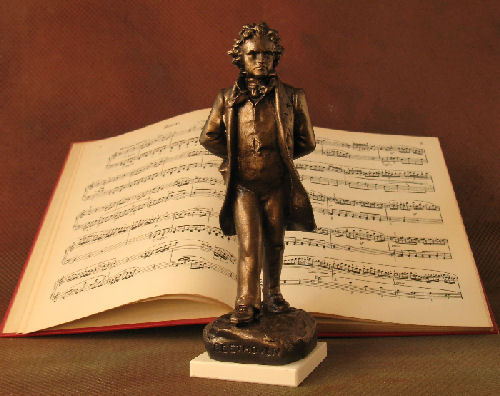 Beethoven In Vienna Sculpture