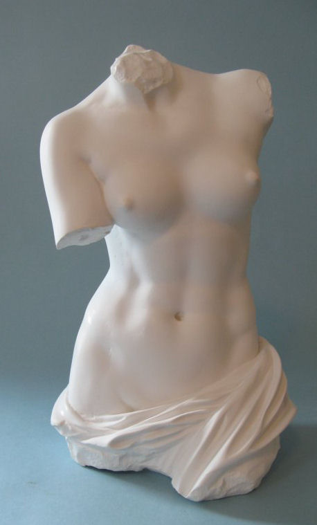 Torso Of The Aphrodite Of Melos Sculpture