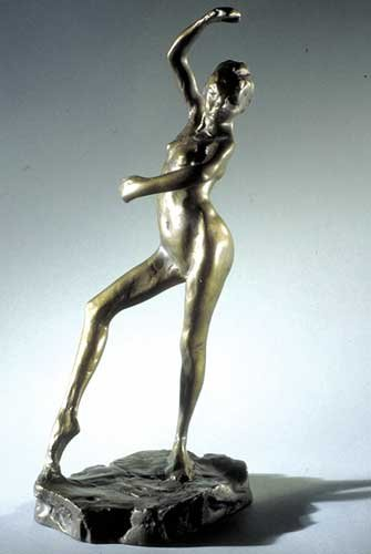 Spanish Dancer By Degas Sculpture