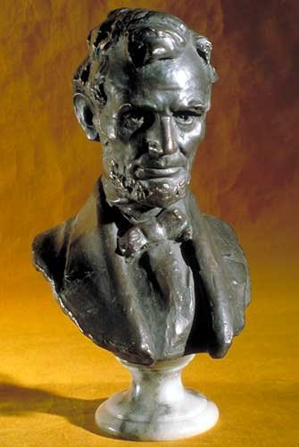 Abraham Lincoln Bust made in America