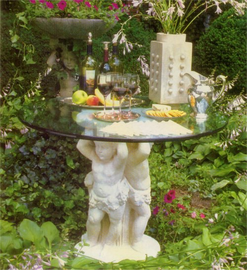 Bacchus Trio Table Base