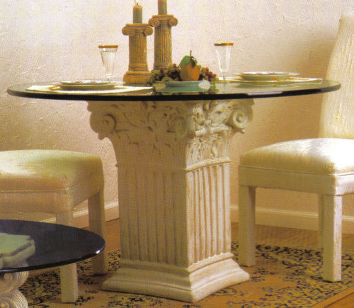Square Fluted Corinthian Dining Table Base : athp0522 from www.statue.com size 500 x 435 jpeg 52kB