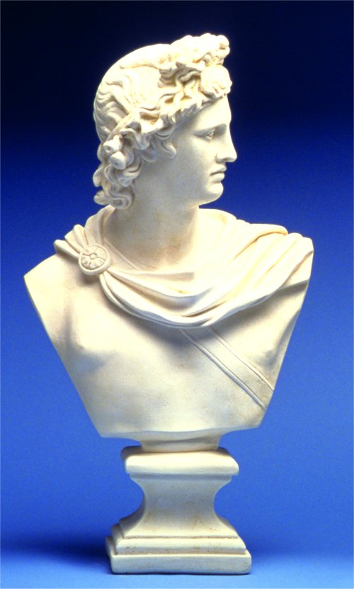 Apollo Bust Sculpture