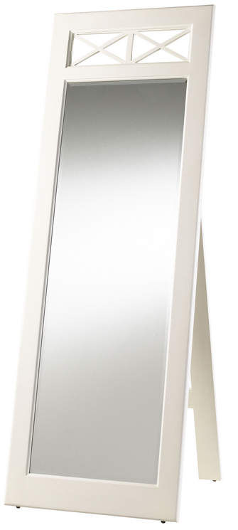 Seneca Lake Cheval Mirror Finish in White