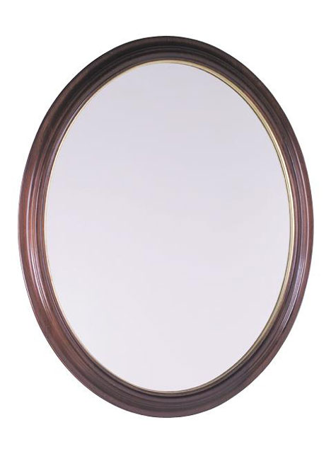 Annapolis Oval Beveled Mirror