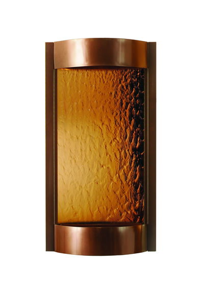 Contempo Solare Waterfall Modern Fountain Dark Copper