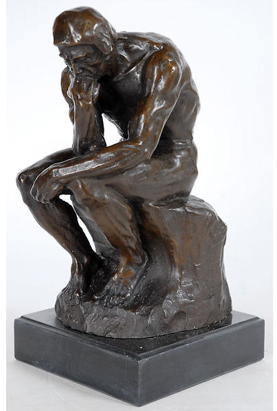 Thinker By Rodin Sculpture made Bronze