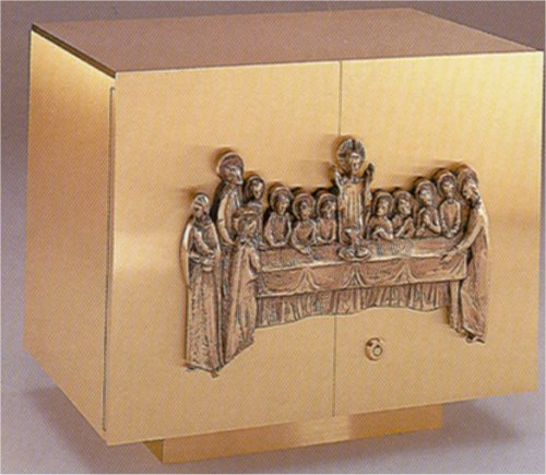 Tabernacle with Last Supper Box for Holy Communion