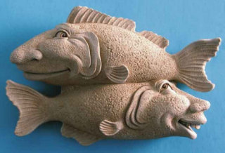 A Good Catch - Fish Wall Plaque