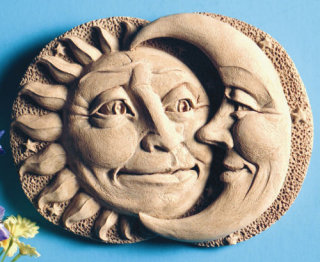 Celestial Attraction Wall Plaque Sculpture