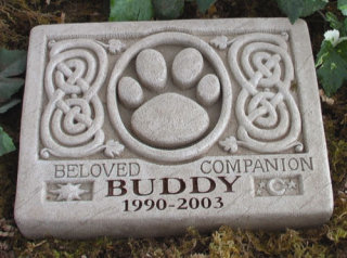 Celtic Pet Memorial Engraved