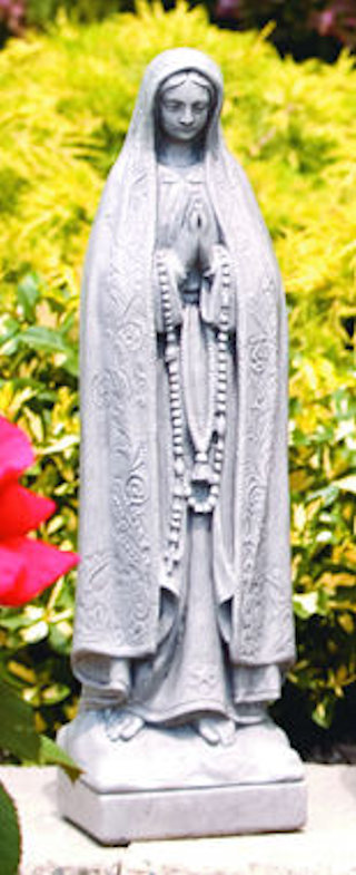 Our Lady Of Fatima Sculpture 18