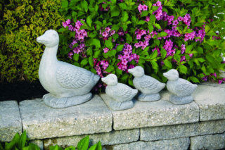 Duck Set Garden Statuary