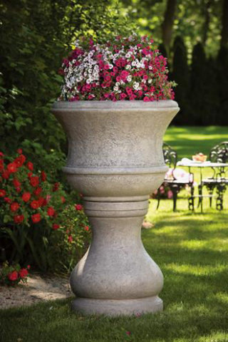 Pozzilli Urn with Matching Pedestal