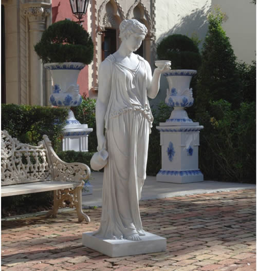 Hebe The Goddess Of Youth Statue Life Size
