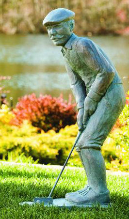 Nostalgic Golfer Man Sculpture 35 25 Quot High