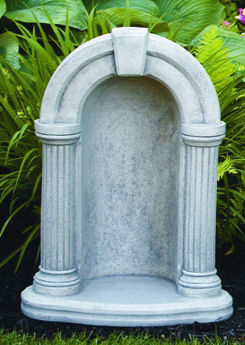 Grotto Round Keystone For 18 Quot Statue