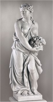 Demeter Life Size Statue Goddess Of The Bountiful Harvest
