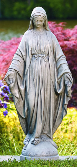 Blessed Mother Mary Garden Statue Large Scale