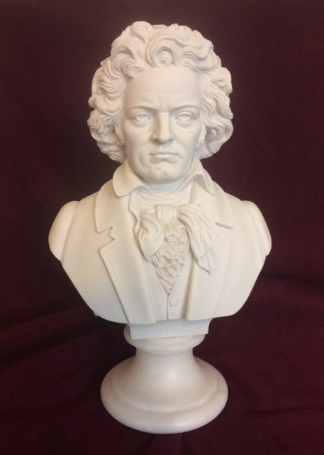 Beethoven Bust Sculpture 16 Quot High Bonded Marble