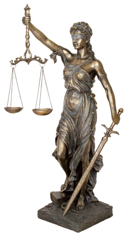 lady justice statue drawing - photo #34