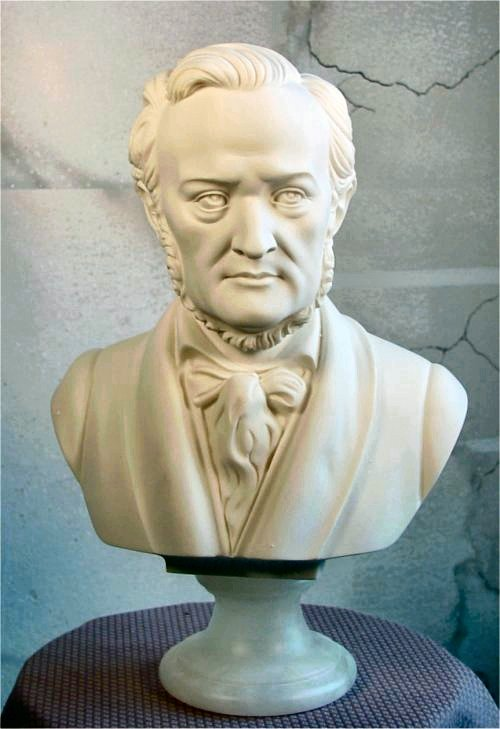 Wagner Richard Marble Bust Statue