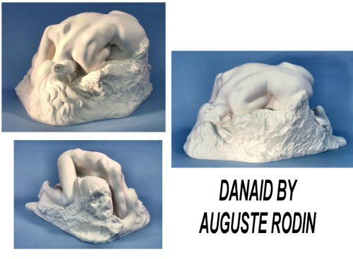 Danaide By Auguste Rodin Marble Statue Large
