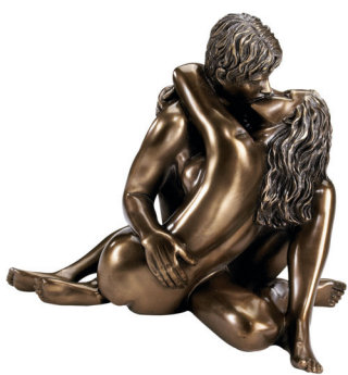 The Embrace Sculpture By Kaleb Martyn