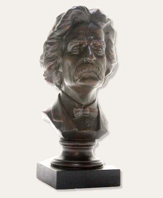 Mark Twain Portrait Bust 9