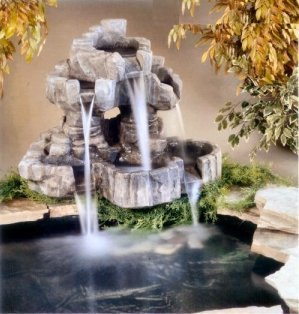 Cascading And Waterfall Fountains