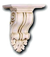 Decorative Brackets, Corbels, and Shelves