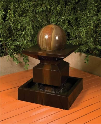 Indoor and Outdoor Water Fountains from Statue.