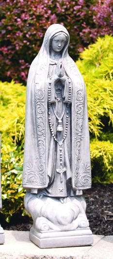 OUR LADY OF FATIMA SCULPTURE Virgin Mary ...