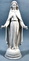 Our Lady Of Roses Marble Sculpture 18