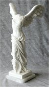 Nike Of Samothrace Winged Victory Marble Statue 12