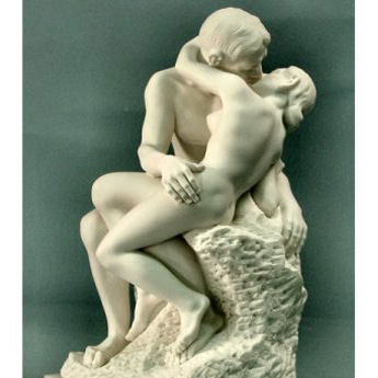 The Kiss By August Rodin Marble Statue 10