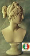 Bather Venus Italica Bust By Canova 12.5