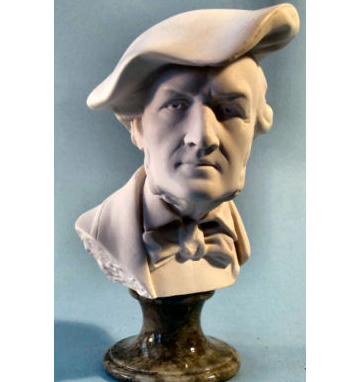 Master Of The Ring - Richard Wagner Bust 8.5