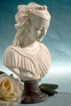 Angelica Maria Bust Sculpture 9.5