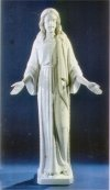 Jesus Blessing Grand Scale Life-Size Marble Statue