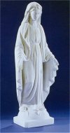 Immaculate Conception Virgin Marble Statue 30
