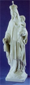 Lady Of Mount Carmel Marble Sculpture 32
