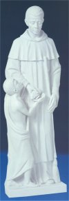 Saint Martin Large Marble Wall Plaque